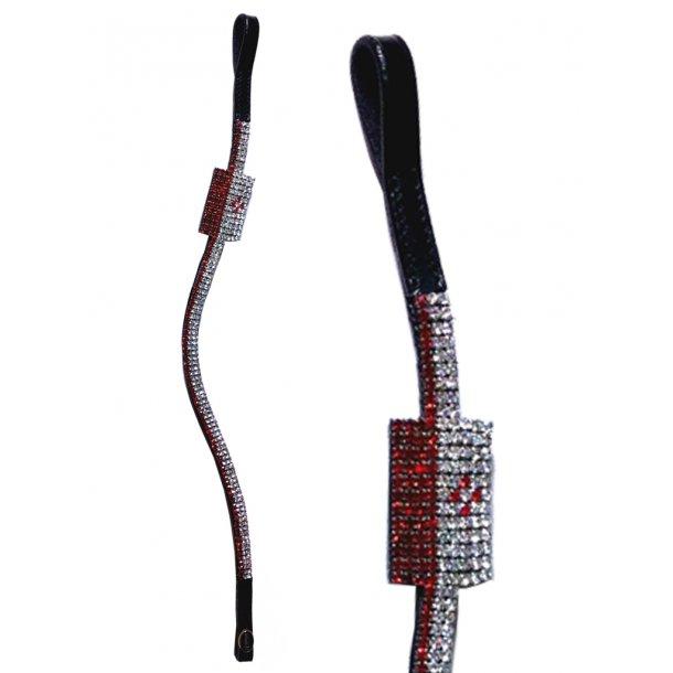 Stirnband mit Flagge aus Kristallen - POLEN