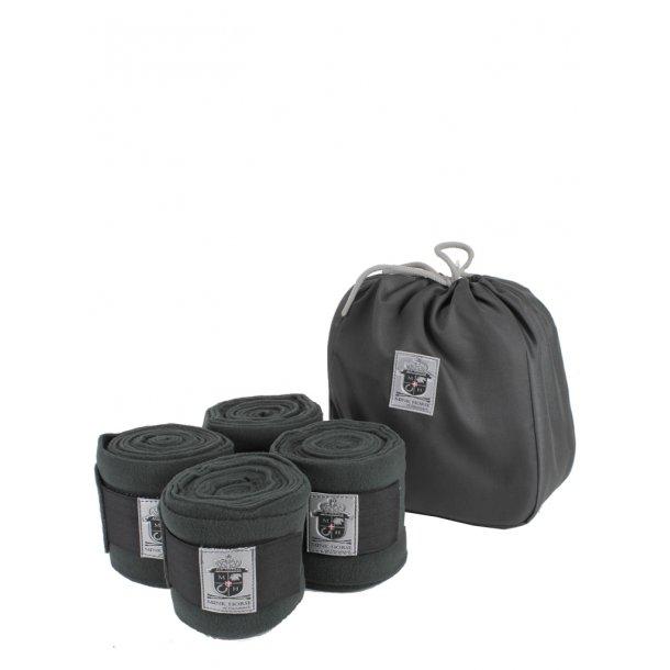 Bandager - luksus fleece, med velcro, 4-pakning