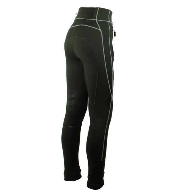 Equestrian FREEDOM Knee, Ride Tights med power grip ved knæ