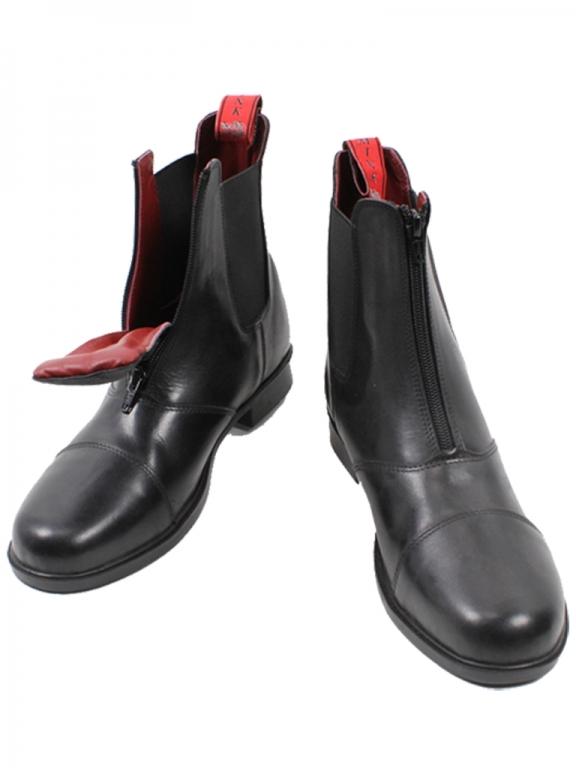 a747f67c08c Stald / Arbejdsstøvle af kraftigt vandafvisende læder/ stål næse ...