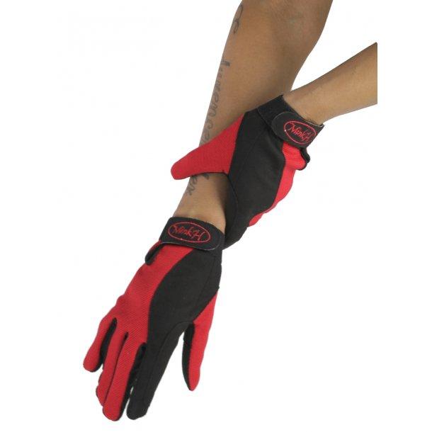 Let ride-handske i microfiber/polyester