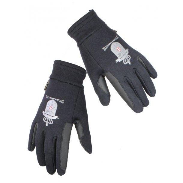 """""""Coldy"""" - ritt / stall handska av en tjock och utsökta Fleece / nylonmaterial med silikon grepp."""