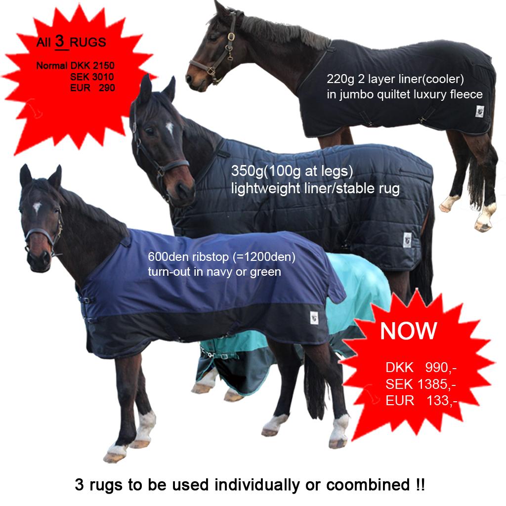 Fleece Liner Staltäcken Mink Horse